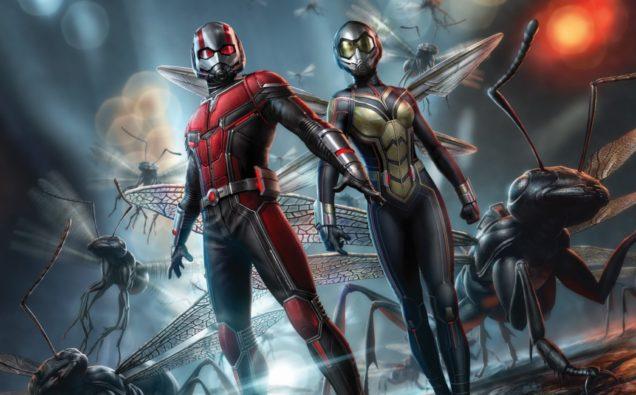 نتیجه تصویری برای Ant-Man And The Wasp 2018